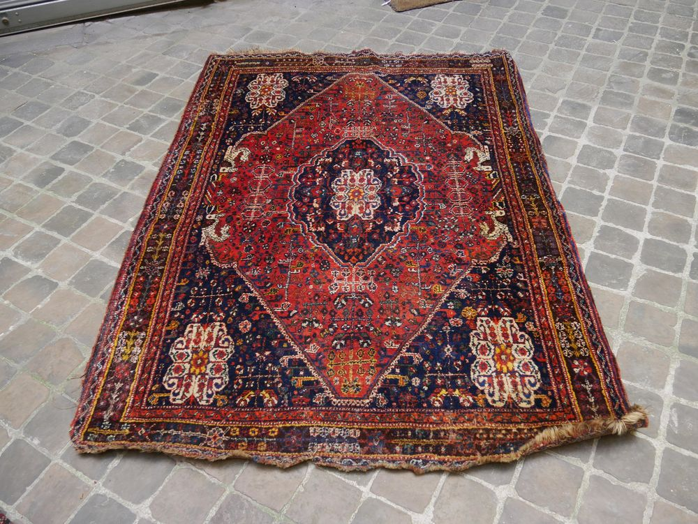 achetez tapis persan ancien occasion