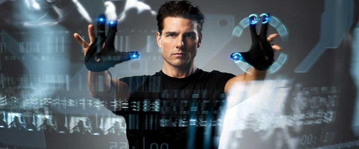 Ο Tom Cruise στο Minority Report ή καλλιτέχνης του μέλλοντος;