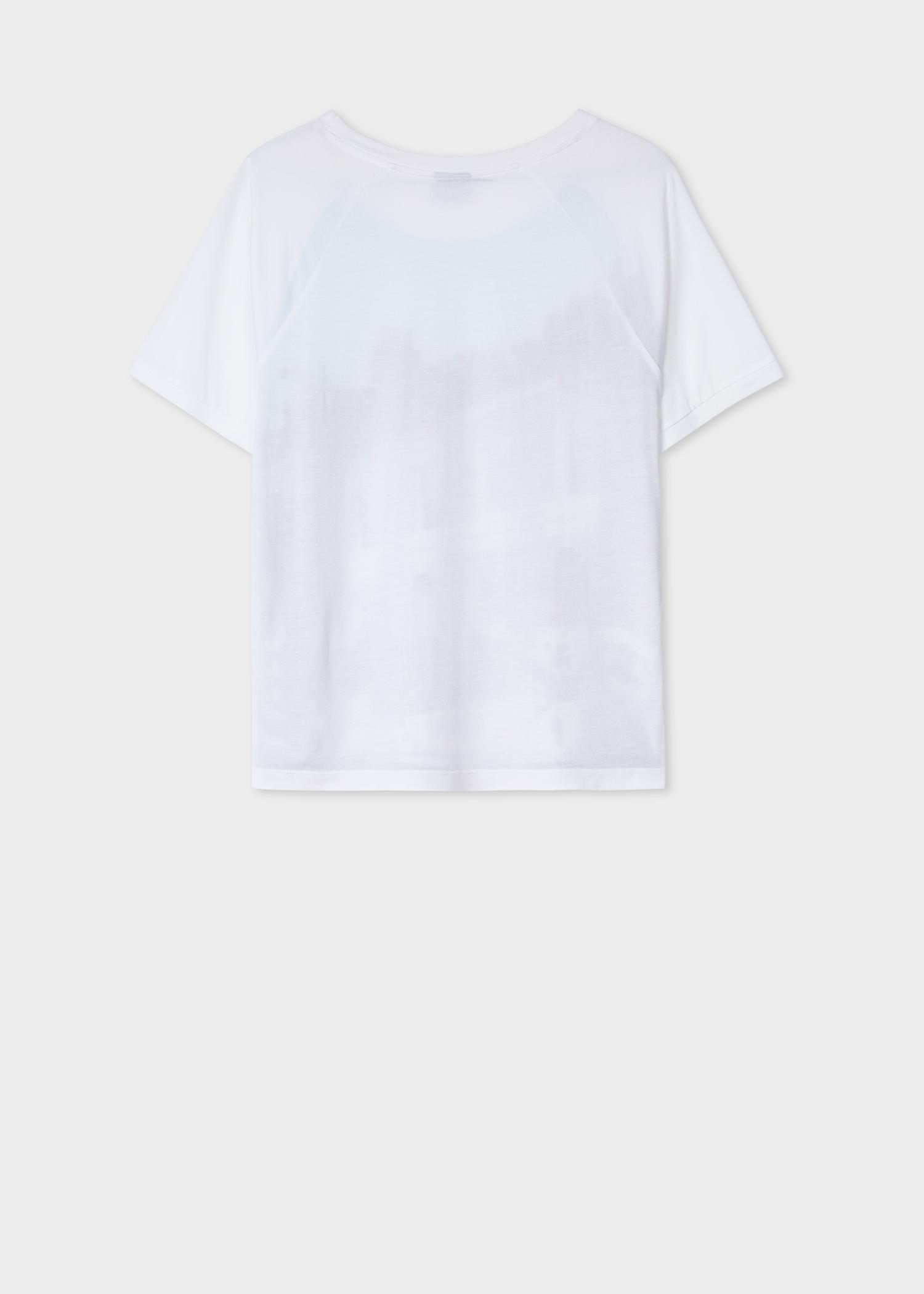 Women S White Dalmatian Spot Print T Shirt