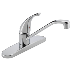 Delta Single Handle Kitchen Faucet Table For Two P110lf