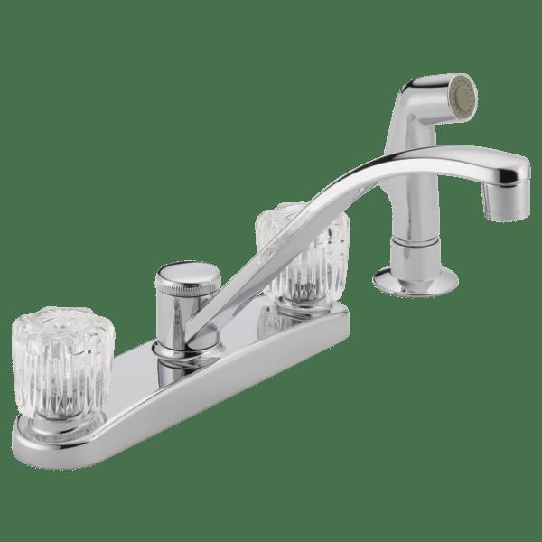 P299501LF  Two Handle Kitchen Faucet