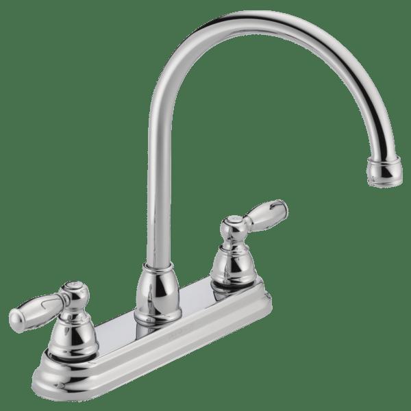 p299565lf two handle kitchen faucet