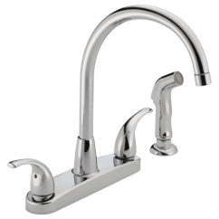 Kitchen Sink Faucet Small Design Ideas P299578lf Two Handle