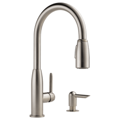 Peerless Kitchen Faucet Parts Trending Appliances P88103lf-sssd-l - Single Handle Pull-down