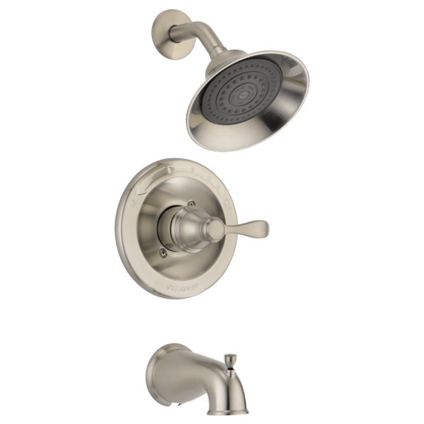 high flow rate kitchen faucets renovate cost p88790-bn - tub and shower trim with rough