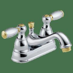 High Flow Rate Kitchen Faucets Best Small Appliances P99675-cb - Two Handle Centerset Bath Faucet