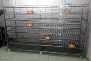 Kolica za odlaganje hleba 0001 pekarskiaparati.com Baki M 015