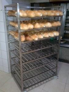 Kolica za odlaganje hleba 0004 pekarskiaparati.com Baki M 015