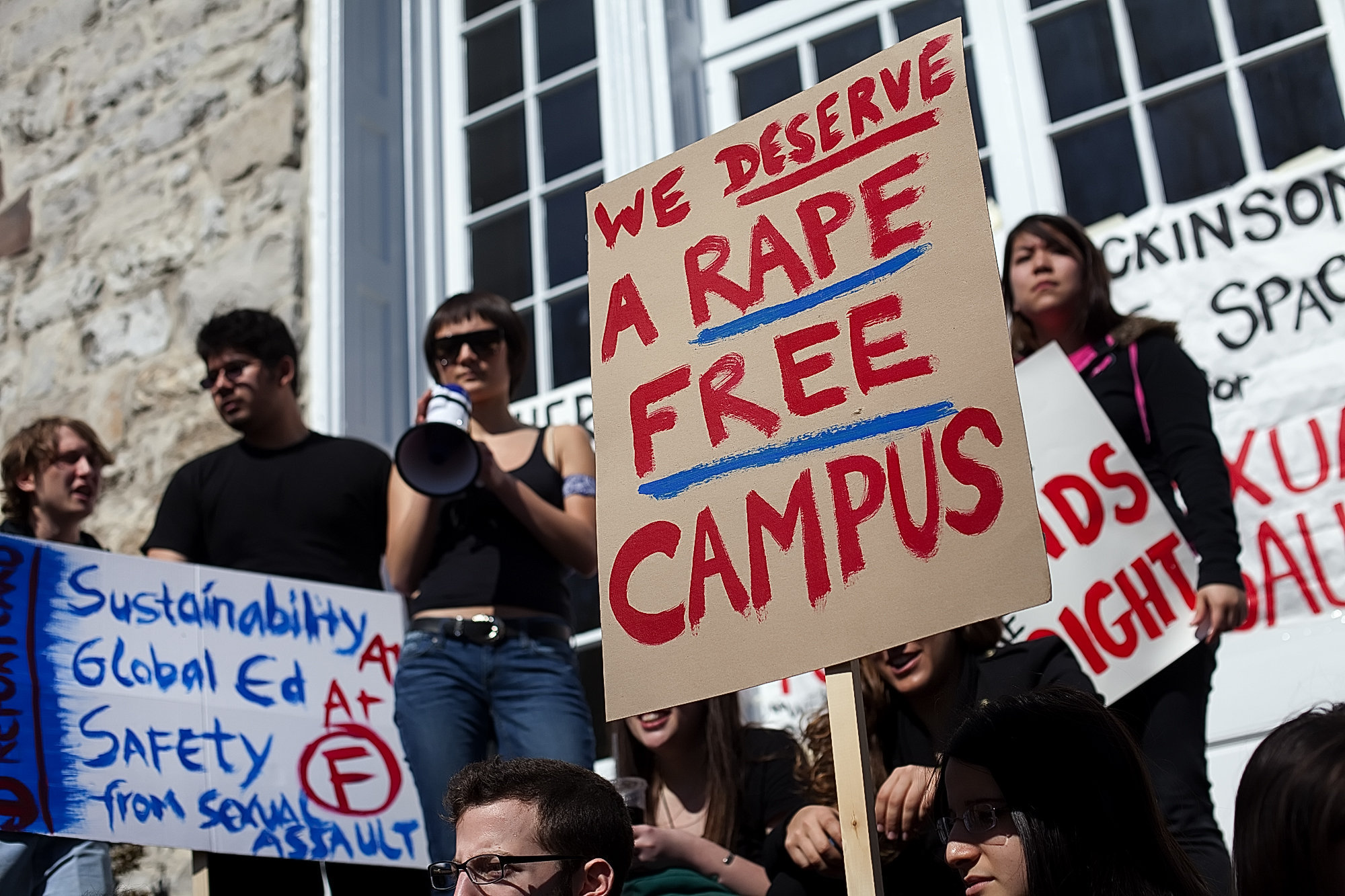 Image result for sexual assault protest