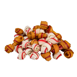 Image for Christmas Rawhide Turkey And Cranberry Dog Chews 50 Pack 450g from Pets At Home