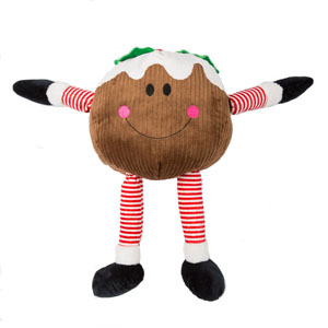 Image for Gigantic Christmas Pudding Dog Toy from Pets At Home