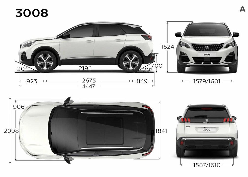 Der Neue Peugeot 3008 Suv Technik
