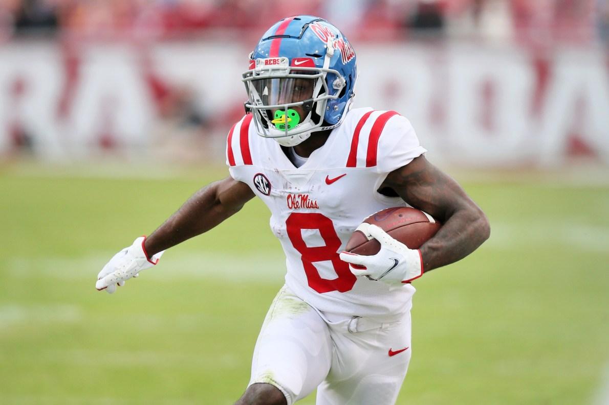 2021 NFL Draft Profile: Ole Miss WR Elijah Moore | NFL Draft | PFF