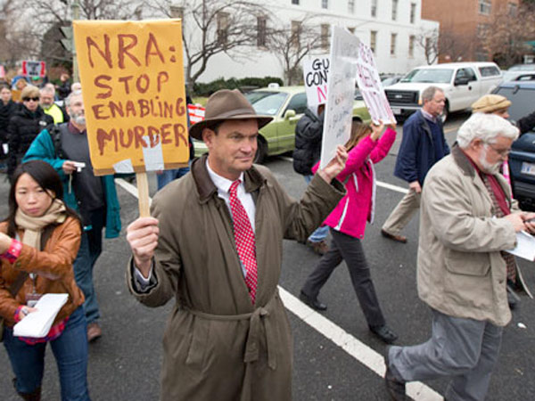 The NRA leadership has hijacked the American political system with fear and paranoia. It´s time for bold direct action for the majority to win the gun conversation.