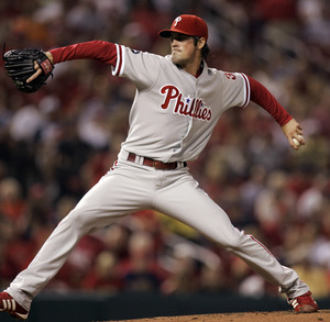 As a musical interlude, Cole Hamels.