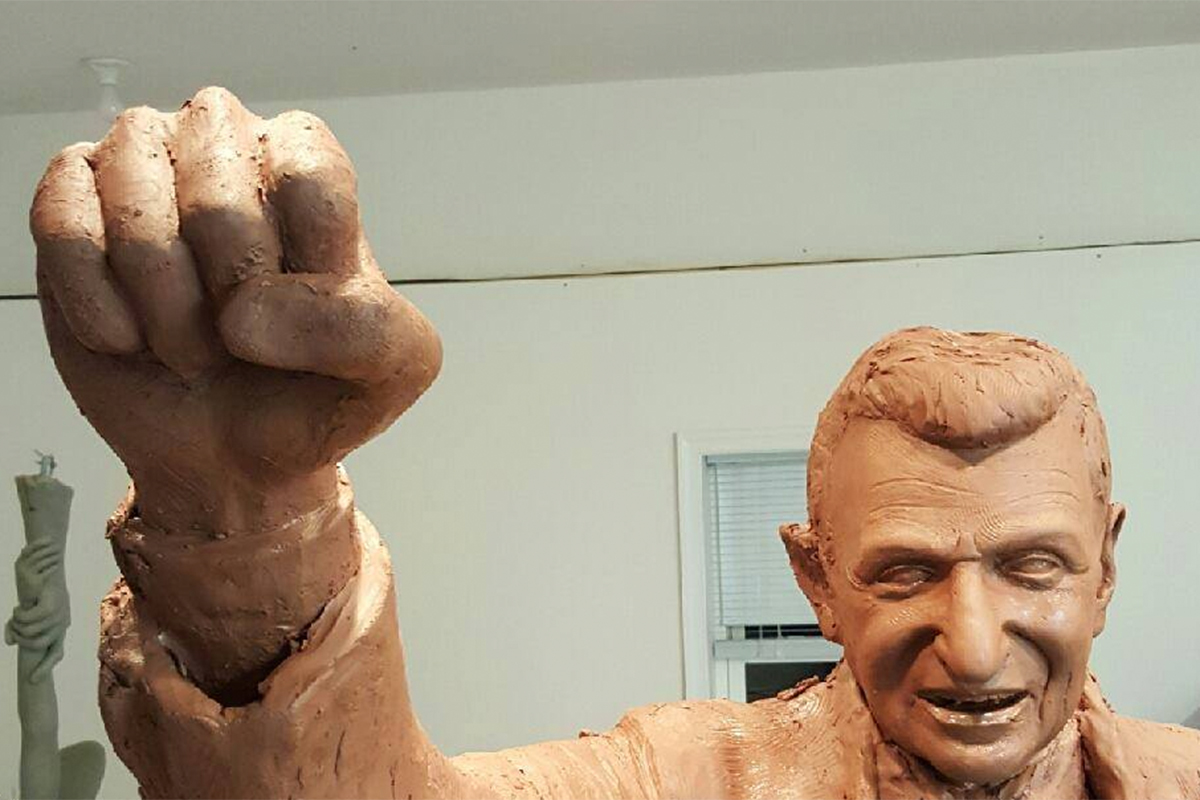 New Joe Paterno statue being made in secret location  Philly