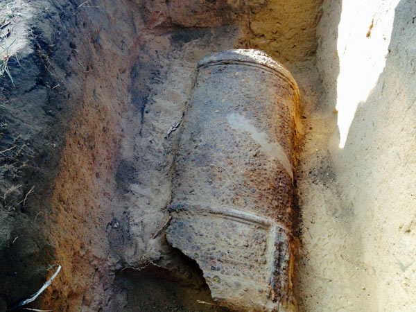 Archaeologists find possible historic cannon at Red Bank  Philly