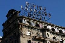 Divine Lorraine Hotel Sign