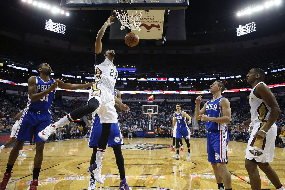 New Orleans Pelicans vs Sixers at a glance  Philly