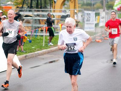 Image result for old man running