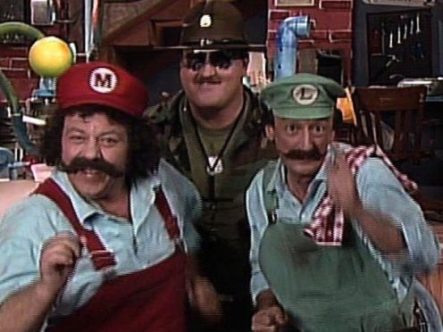 Image result for super mario super show live action
