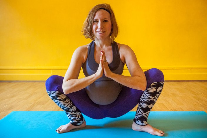 Preparing for birth with prenatal yoga  PhillyVoice