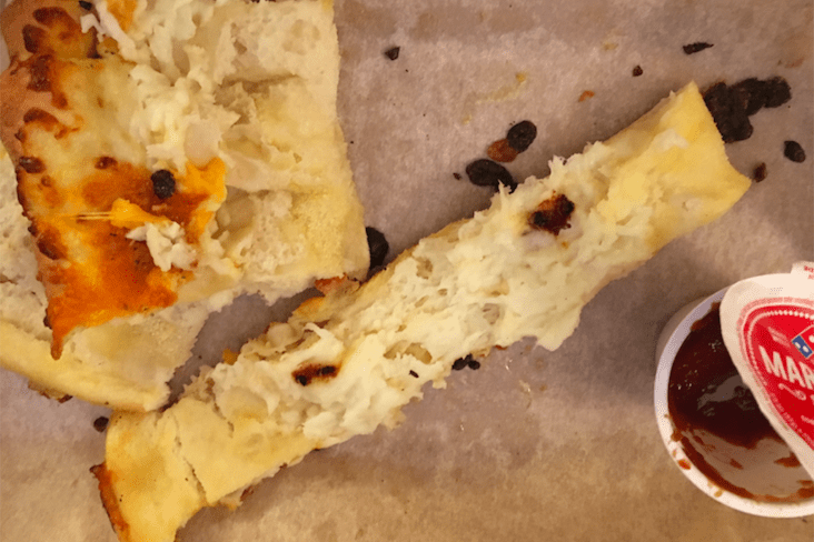 Rittenhouse Square Woman I Found Poop In My Dominos Pizza Cheese