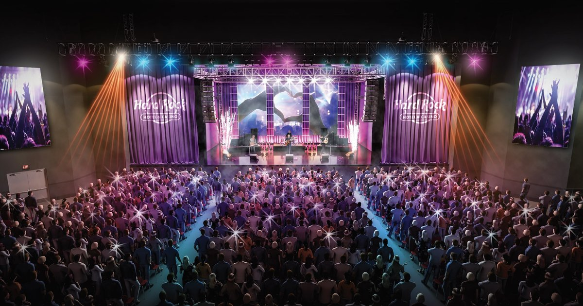 TODAY Celebrate the grand opening of Hard Rock Hotel  Casino Atlantic City  PhillyVoice