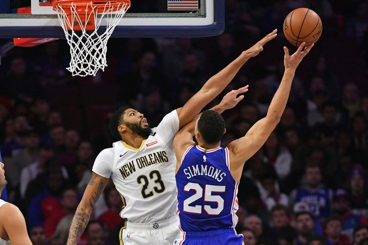 The Sixers can make the best trade offer for Anthony Davis