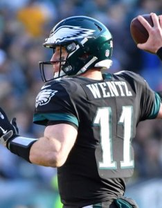 Carson wentz usat also week nfl picks rounding up the experts  predictions for eagles rh phillyvoice