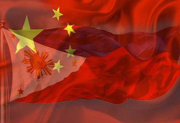 Image result for china, philippines, flags, pictures