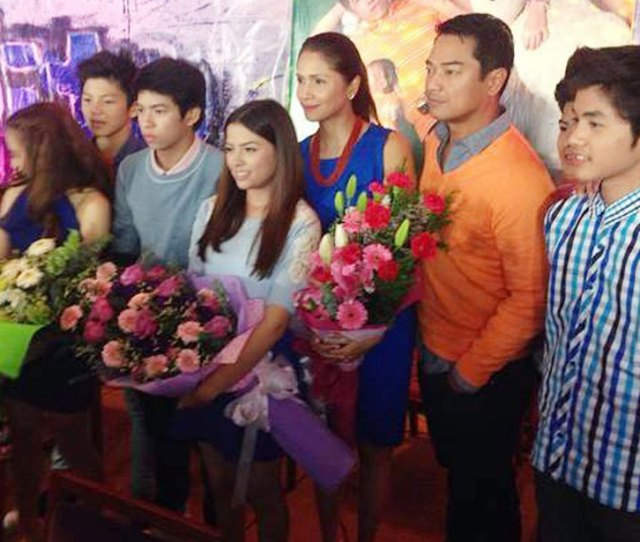 With Bagito Co Stars At The Presscon The Teleserye Zeroes In On Three Generations From The Younger Ones To Their Parents And Their Grandparents