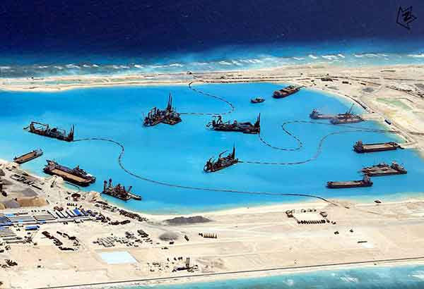 China-building-8 - China's actions in the West Philippine Sea destroys the marine environment  - Science and Research