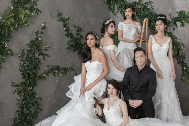 Image result for Francis Libiran's new Paris-inspired bridal collection