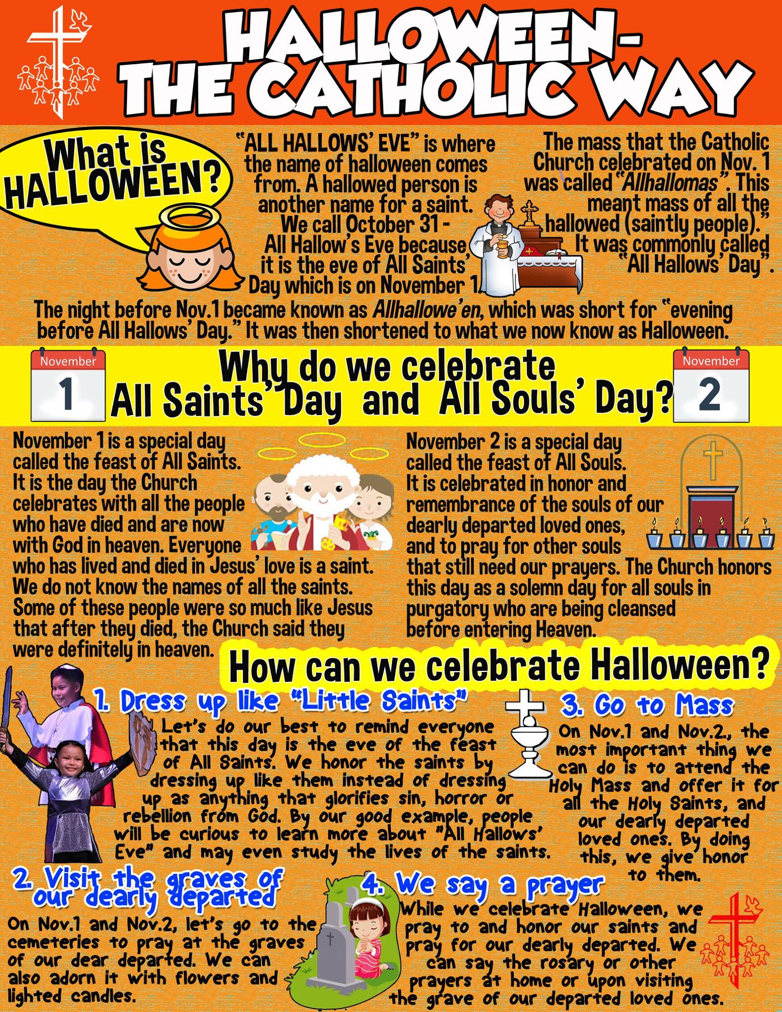 Celebrate Halloween In A Holier Way A List Of Saint