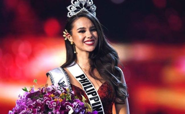 Miss Universe Organization Greets Catriona On 25th