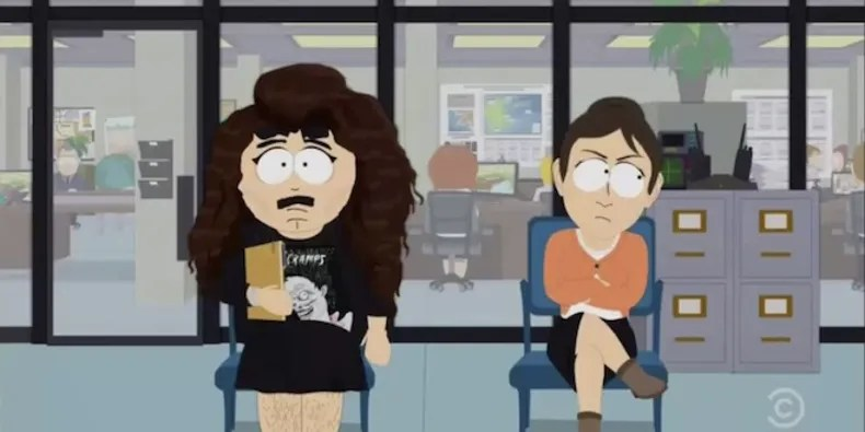 lorde sings south park