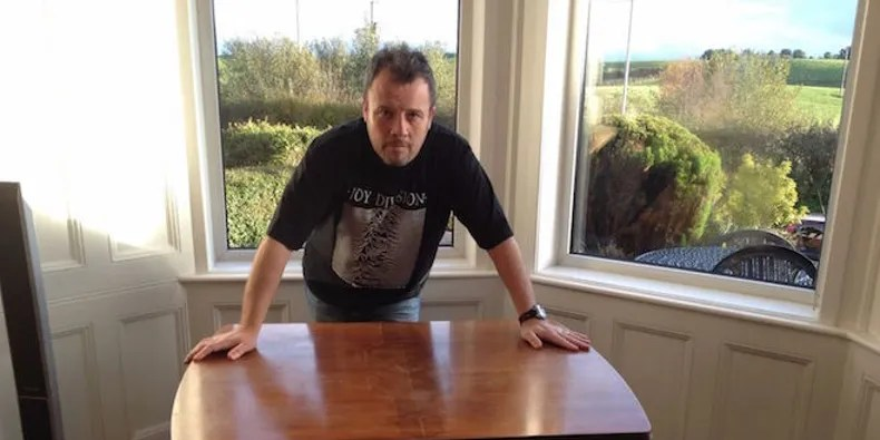 ebay kitchen tables set ian curtis table available on again pitchfork the saga of late joy division frontman s continues