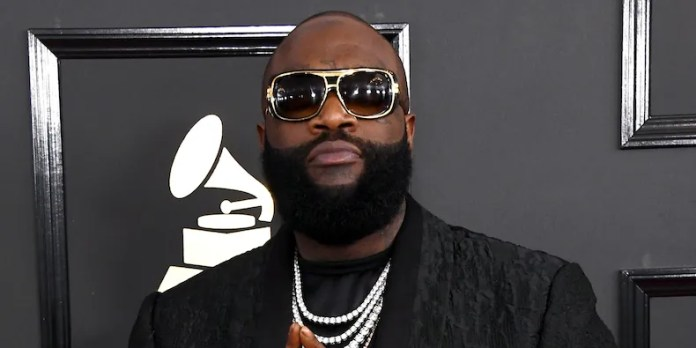 Rick Ross in February 2017, photo by Jon Kopaloff/FilmMagic