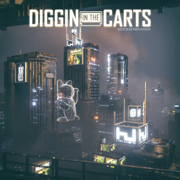 Diggin in the Carts Kode9 Remixes album art
