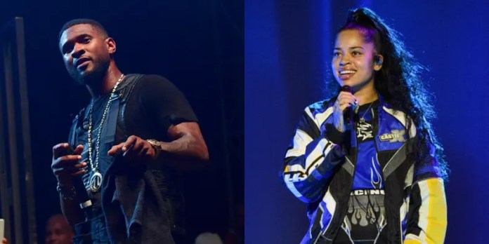 Image result for USHER AND ELLA MAI