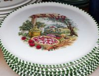 Ceramic Pizza Plate & Plate Bowl Italian Pizza Plate ...