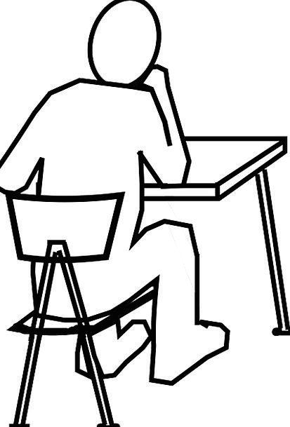 Desk, Counter, Chairperson, Man, Gentleman, Chair