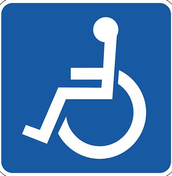 wheelchair space disabled incapacitated