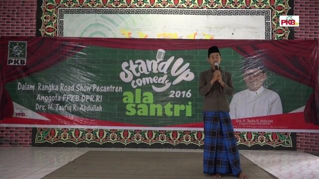 Stand Up Comedy Ala Santri Al Fatah Banjarnegara (episode 12)