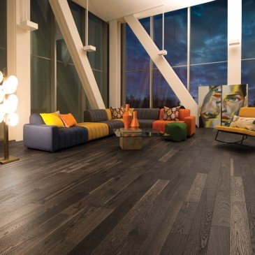 oak wood floor living room small traditional ideas with tv flair brown white hardwood flooring lunar eclipse mirage inspiration
