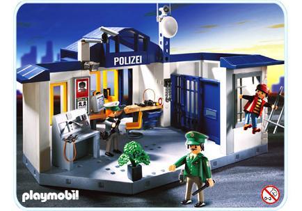 PolizeirevierGefängnis - 3159-A - PLAYMOBIL® Deutschland