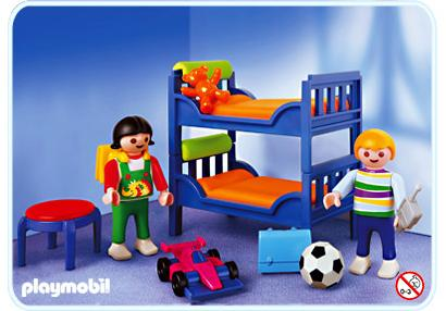 Chambre Denfants Contemporaine 3964 A PLAYMOBIL France