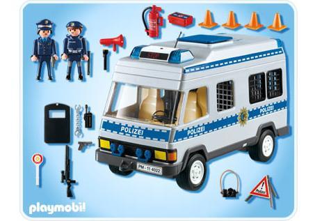 Playmobil Polizei Comic