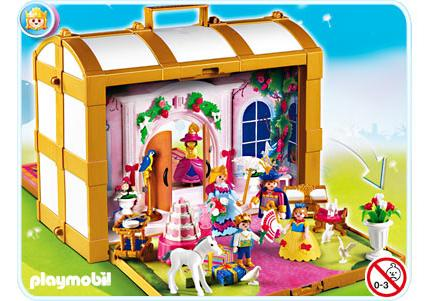 Coffre de princesses transportable  4249A  PLAYMOBIL France
